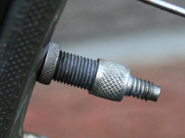 Fahrrad mantel am ventil