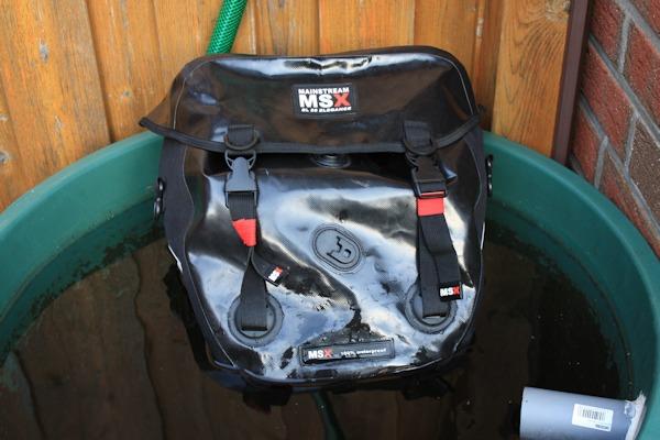 Wasseredichte Fahrradtasche