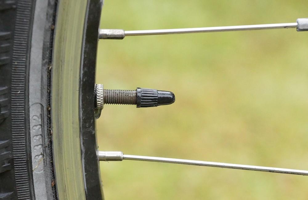 Fahrradmantel test
