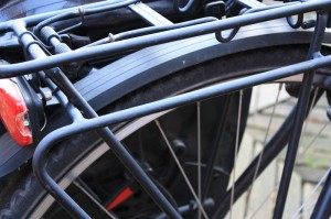 Gepäckträgerhalterung für Fahrradtasche