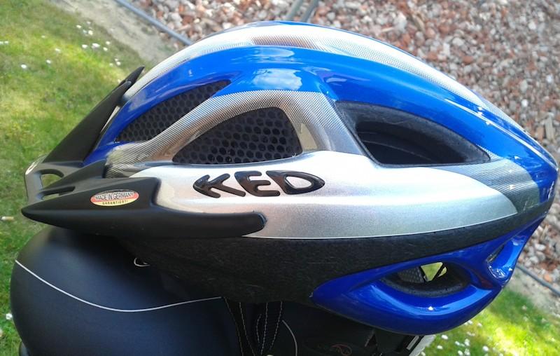 KED vs Fahrradhelm Mikroschalen Helm in blau