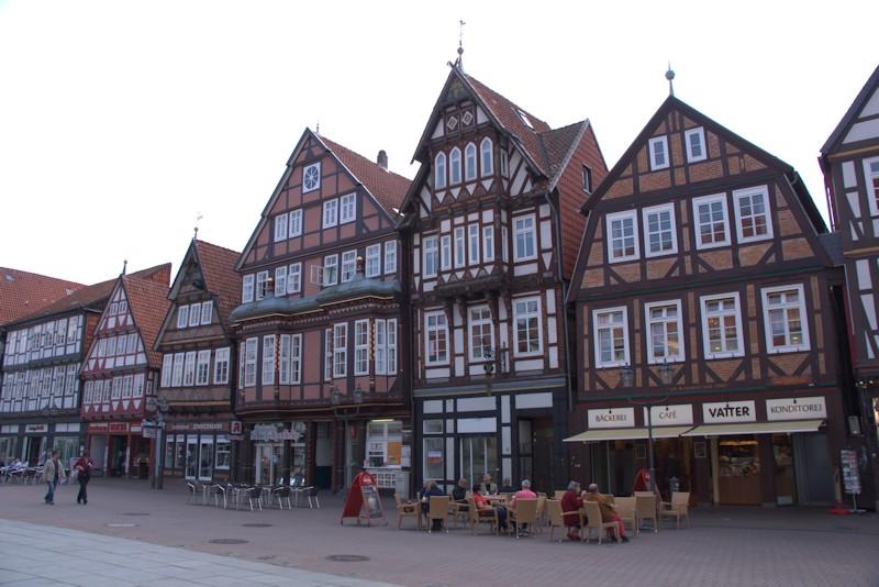Fachwerkhäuser in der Celler Innenstadt / Altstadt