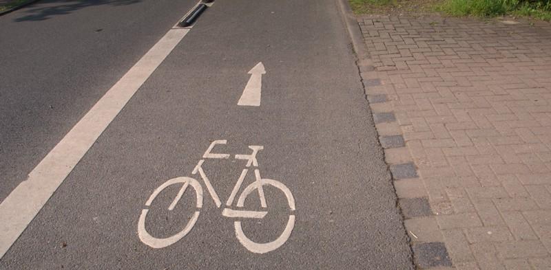 Fahrradstraße in Celle