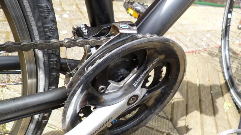 Gangschaltung einstellen - Gereinigte Fahrradschaltung