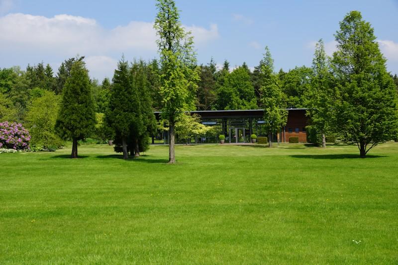Clubhaus im Rhododendronpark Bruns