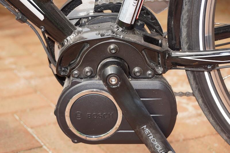 Tretlagermotor am Kreidler Vitality Elite von Bosch