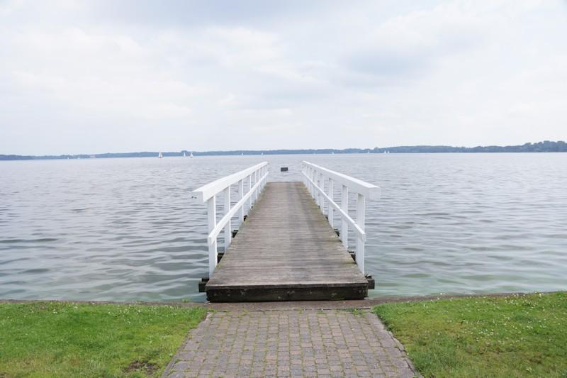 Blick auf das Bad Zwischenahner Meer vom Kurpark aus
