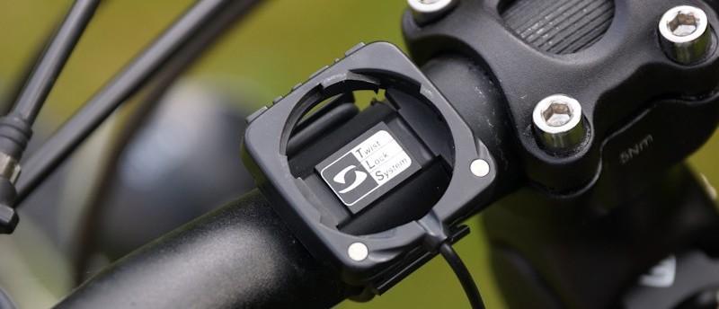 Befestigung und Halterung Fahrradcomputer am Lenker
