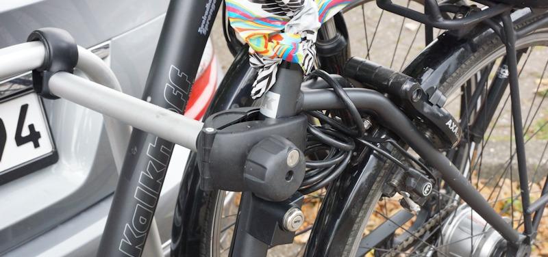 Fahrradbefestigung