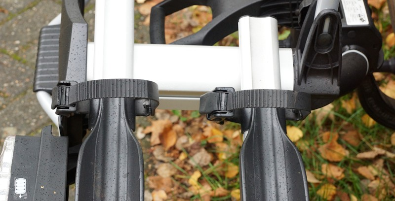 Felgenhalter am Fahrradträger von Uebler