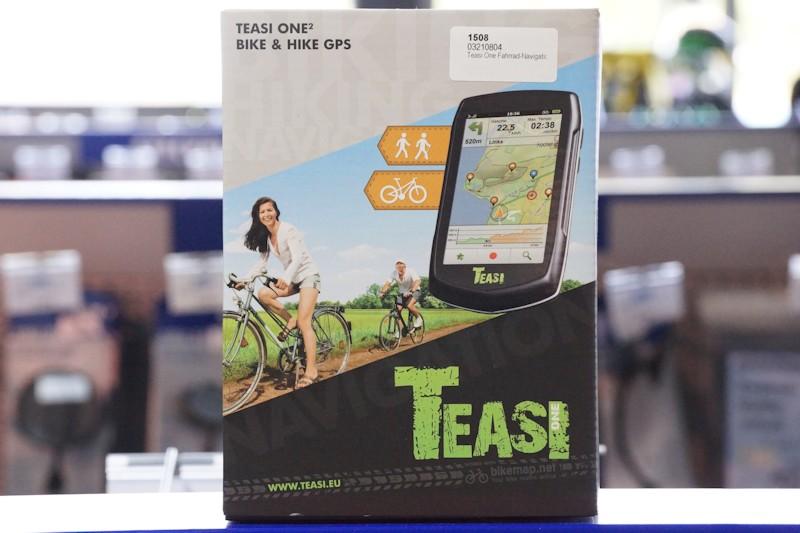 Verpackung Teasi One 2 Navigationsgerät