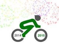 Logo mit Feuerwerk und Jahreszahlen