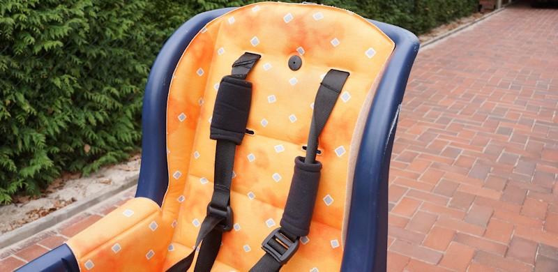 Kinderfahrradsitz Sicherheitsgurte im Römer Fahrrad Kindersitz für hinten