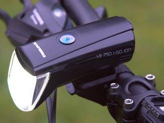 Trelock FS 750 ION Test eingeschaltet