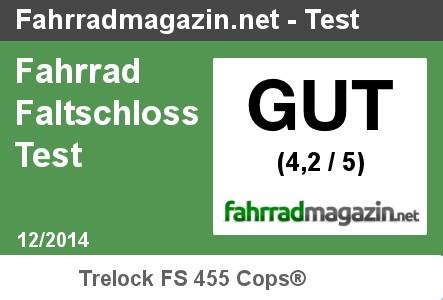 Testergebnis Trelocks FS 455 Test