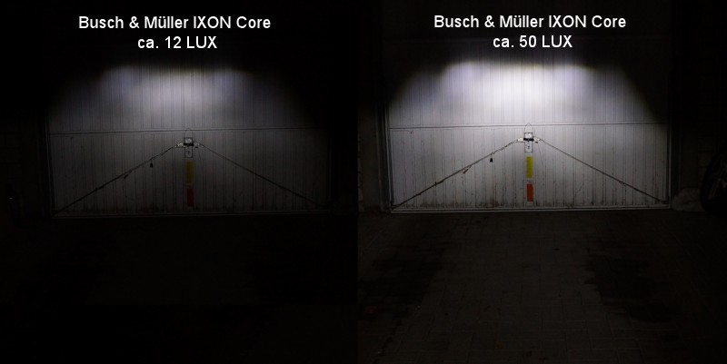 Compare Busch and Müller 12 LUX and 50 LUX