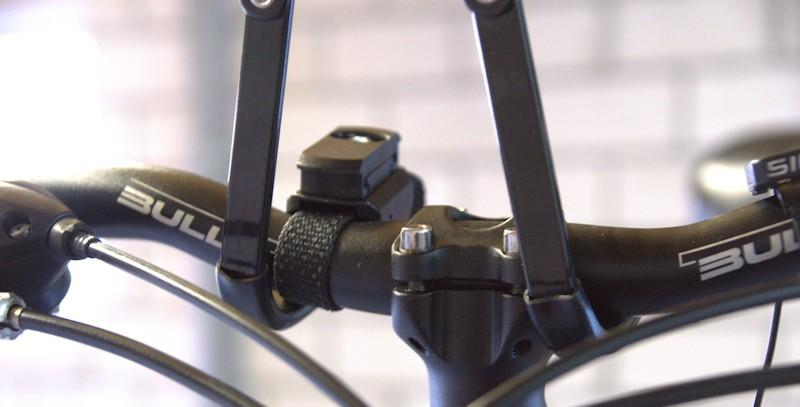 Fahrradlift Haken am Lenker