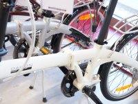Klappfahrräder in einer Reihe - Faltrad Test