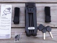 Sie sind hier: Startseite » Allgemein » Lidl Fahrradschloss - Crivit ® Faltschloss im Test Lidl Fahrradschloss – Crivit ® Faltschloss im Test