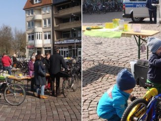 Fahrrad Putzen für den guten Zweck - Round Table Oldenburg