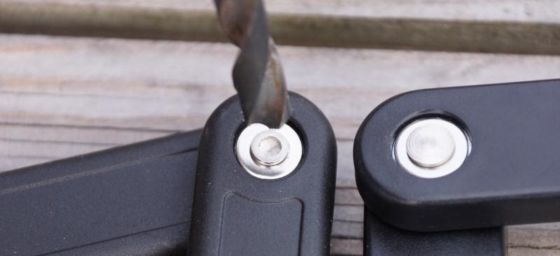 Faltschloss Verbindungsstück Vergleich Crivit® und Trelock