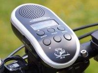 Fahrradradio mit Batterien UKW