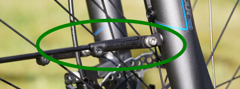 Fahrrad Schutzblechstrebe