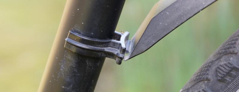 Steckschutzblech Rahmenhaltertung am Hinterrad / Rahmen