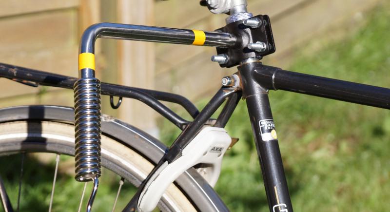 Fahrradleine Halterung Abstandhalter