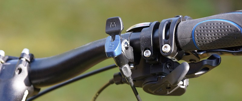Remote Lock Hebel