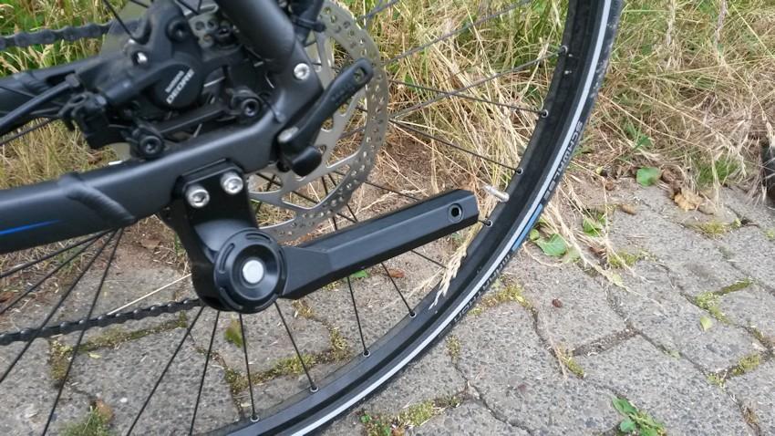 Defekter Fahrradstaender