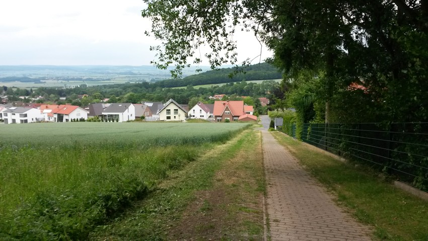 Fahrt auf den Nikolausberg in Göttingen