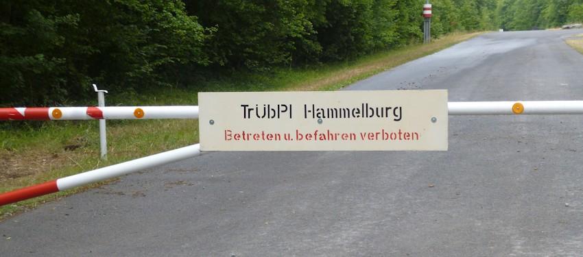 Schranke Truppenuebungsplatz Hammelburg