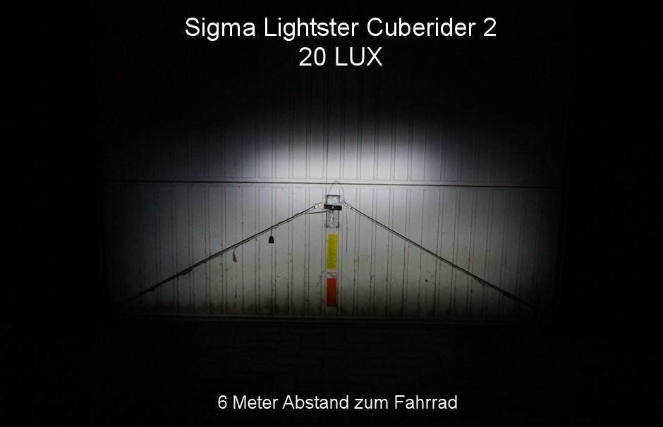 sigma lightster cuberider 2 im test sehr gut 4 5 von 5. Black Bedroom Furniture Sets. Home Design Ideas
