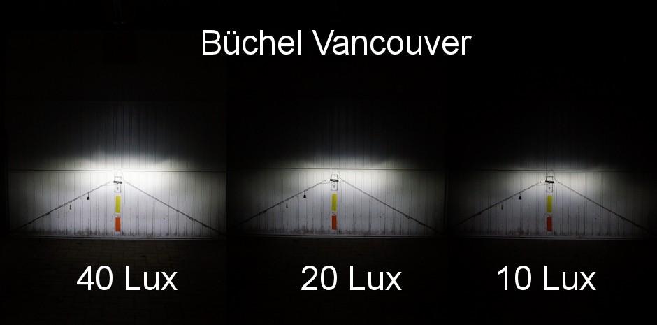 Büchel Vancouver illumination test