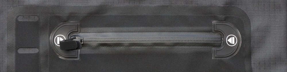 Waterproof zipper on Fahrradtasche MSX Mainstream