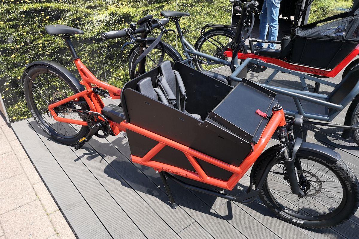 Lastenfahrrad mit E-Bike Antrieb