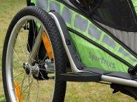Qeridoo Sportrex 1 Test - Einsitzer Kinderanhänger