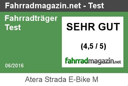 Atera Strada E-Bike M Testergebnis