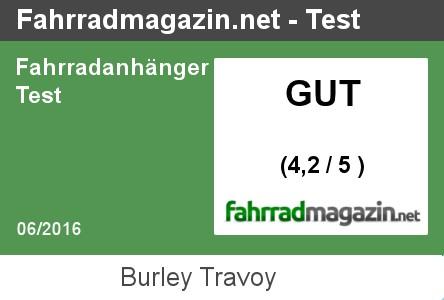 Burley Travoy Test Testergebnis