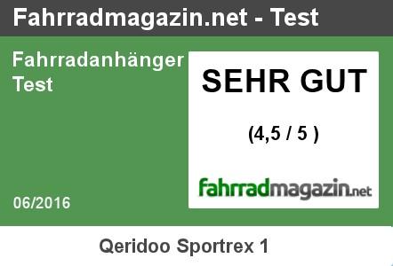 Testergebnis Qeridoo Sportrex 1