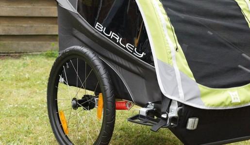 Burley D'lite Test – Fahrradanhänger für bis zu 2 Kinder