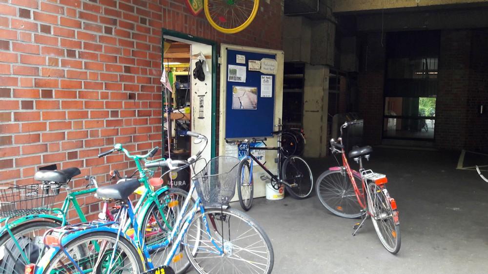 Fahrradwerkstatt Oldenburg am Uni Campus