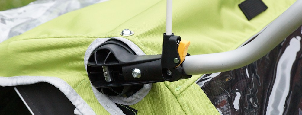 Handlebar mount flag