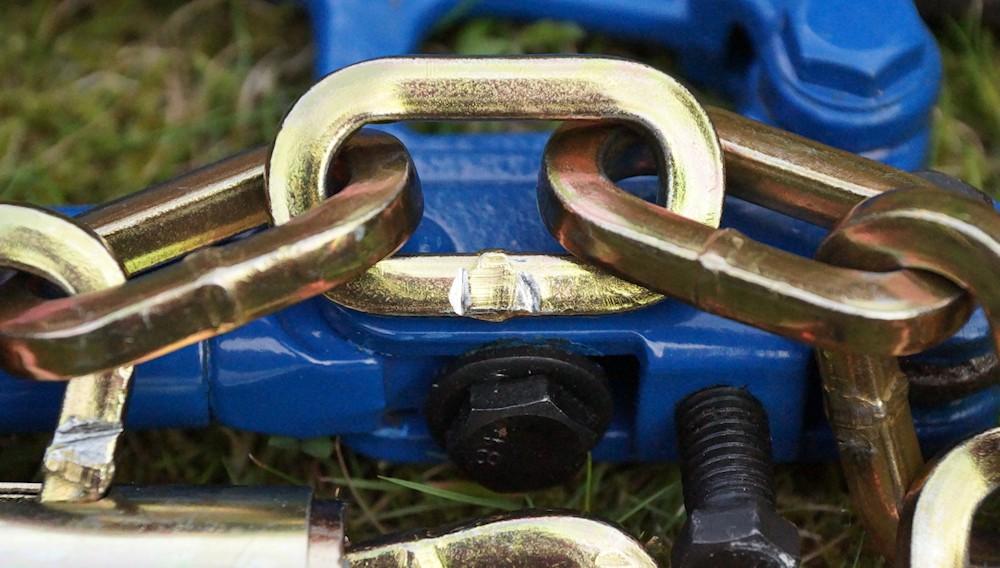 Axa Linq damage to bolt cutter test