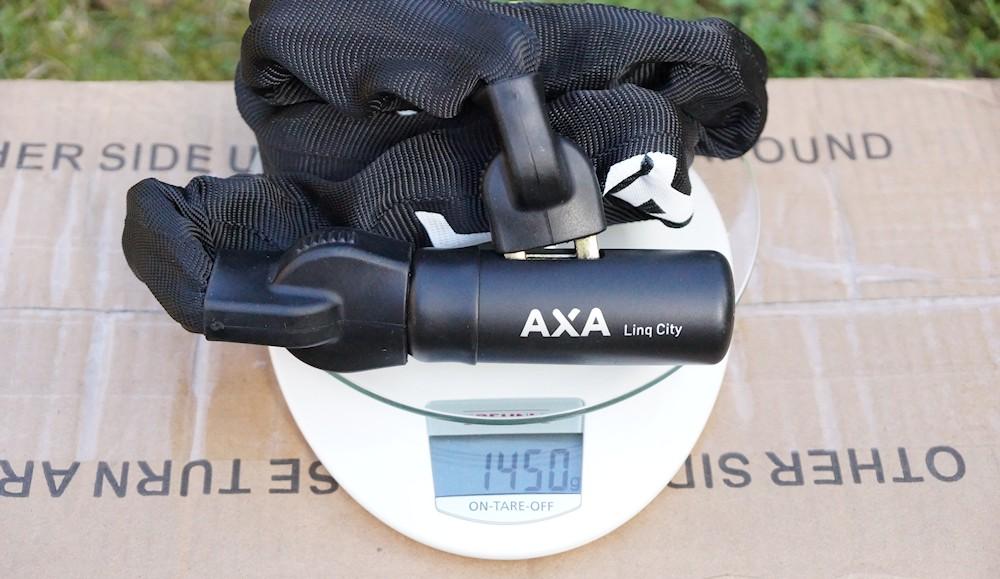 axa linq city weight