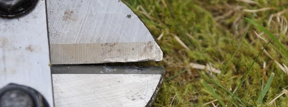 bolt cutters blade defective