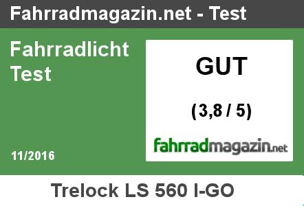 Trelock LS 560 I-GO Testergebnis