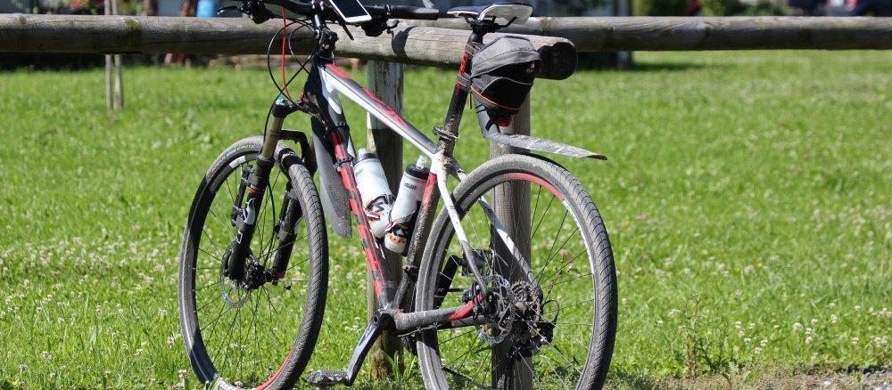 Mountainbike beim 24h Rennen am Alfsee