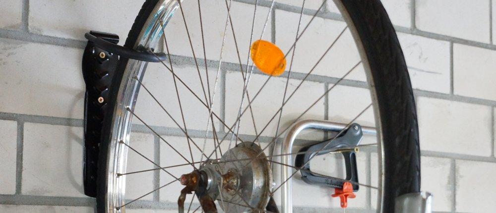 Fahrrad Wandhalterung Test Das Fahrrad Platzsparend Abstellen